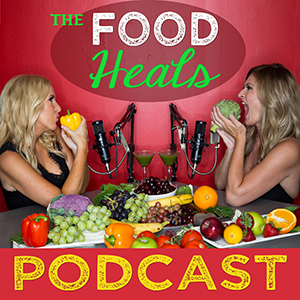Artwork for the Food Heals Podcast hosted by Allison Melody and Suzy Hardy