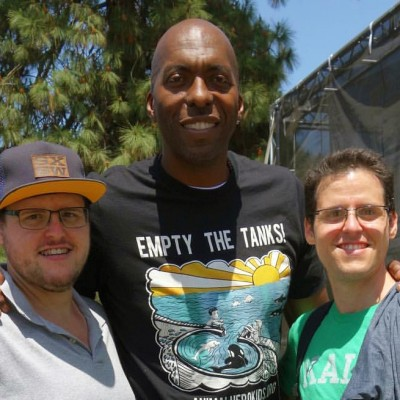 Adam Sud, Bobby Sud and John Salley
