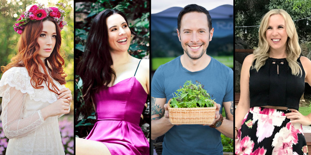Allison Melody, Whitney Lauritsen, Nicole Derseweh and Jason Wrobel on the Food Heals Podcast