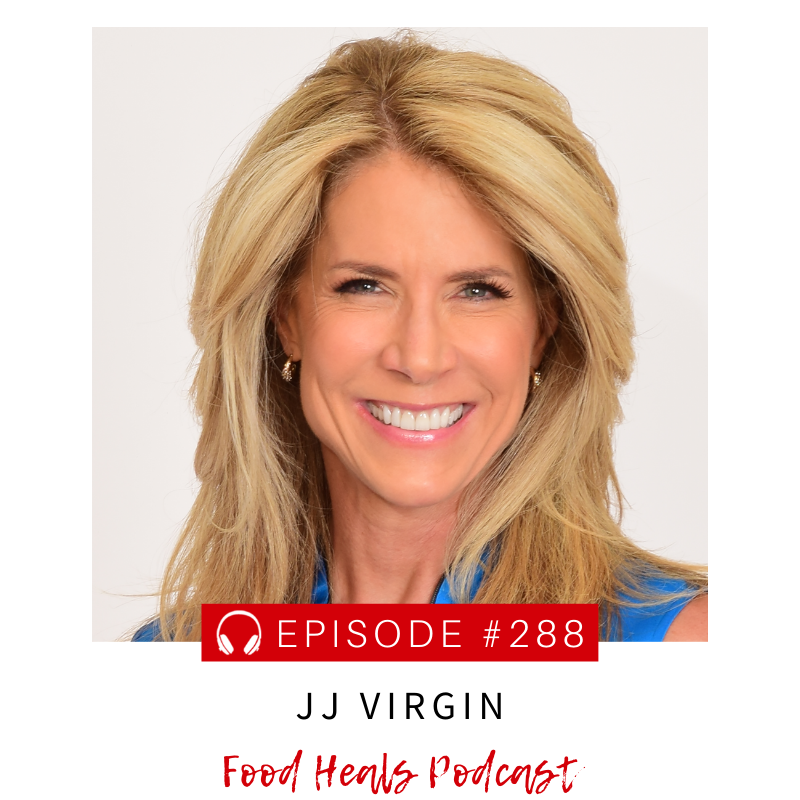 JJ Virgin chats with Allison melody on The Food Heals Podcast
